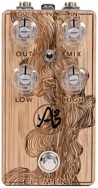 Anasounds Origins Element Analog Spring Reverb Pedal (Woodgrain)