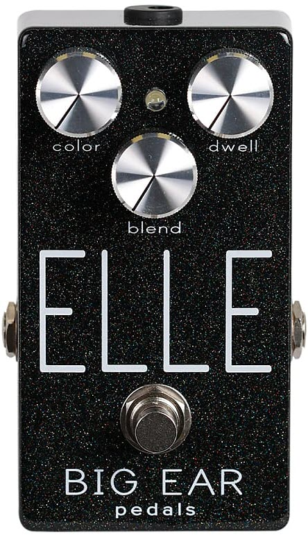 Big Ear Pedals Elle Modulated Reverb Pedal (Black)