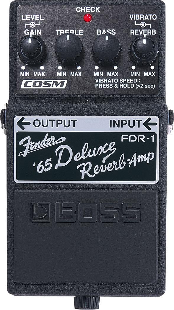 Boss FDR-1 '65 Fender Deluxe Reverb Pedal (Black)