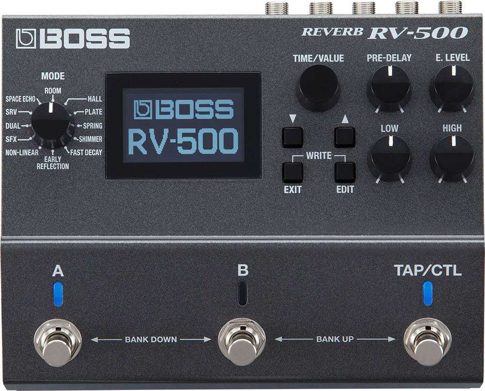 Boss RV-500 Reverb Pedal (Gray)