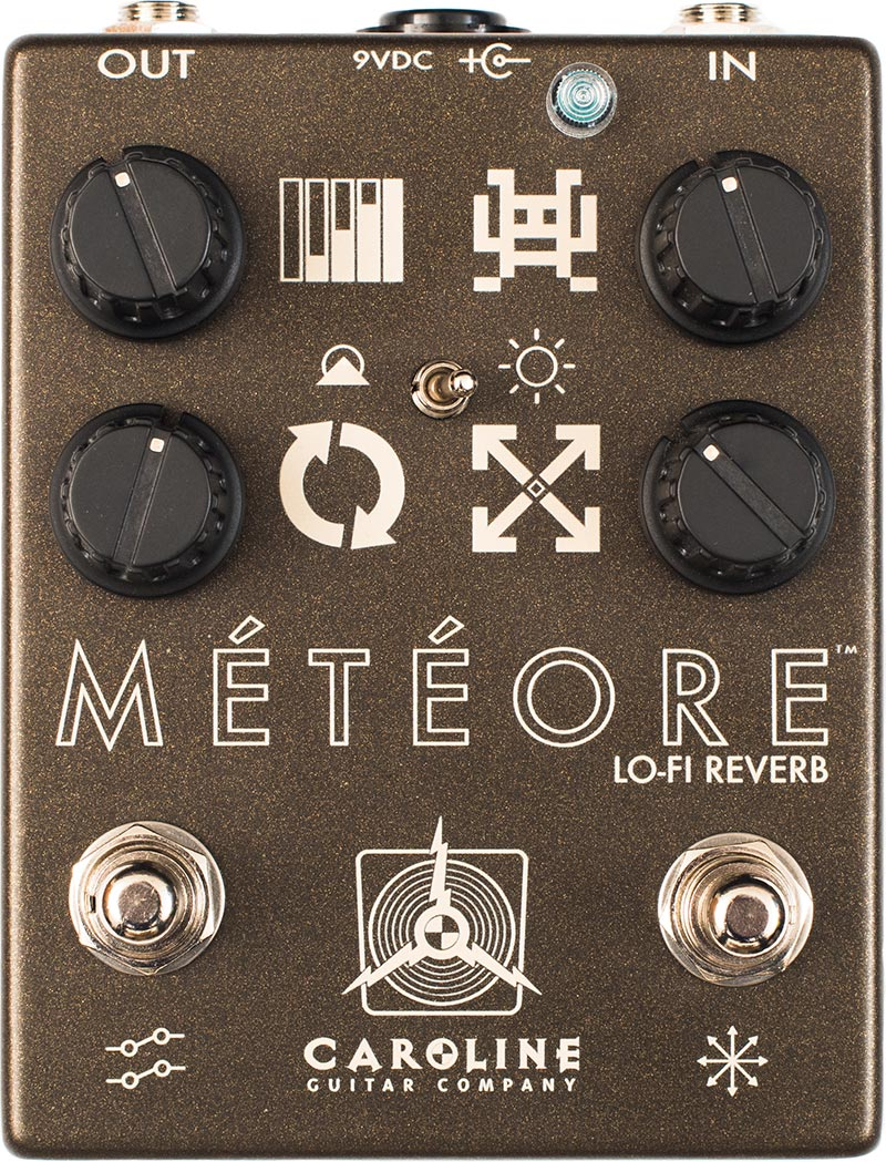 Caroline Meteore Lo-Fi Reverb Pedal (Meteorite)