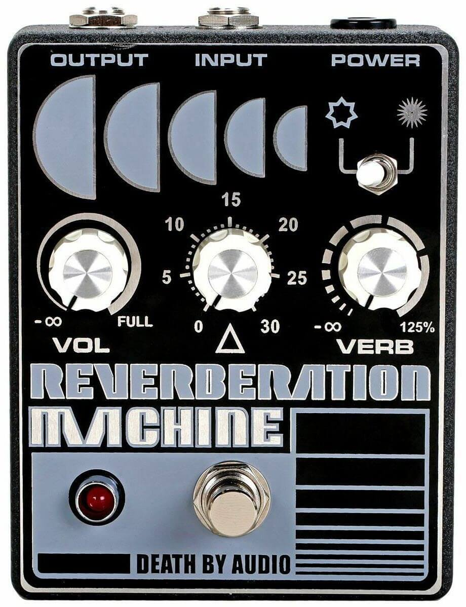 Death By Audio Reverberation Machine Reverb Pedal (Gray/Blue)