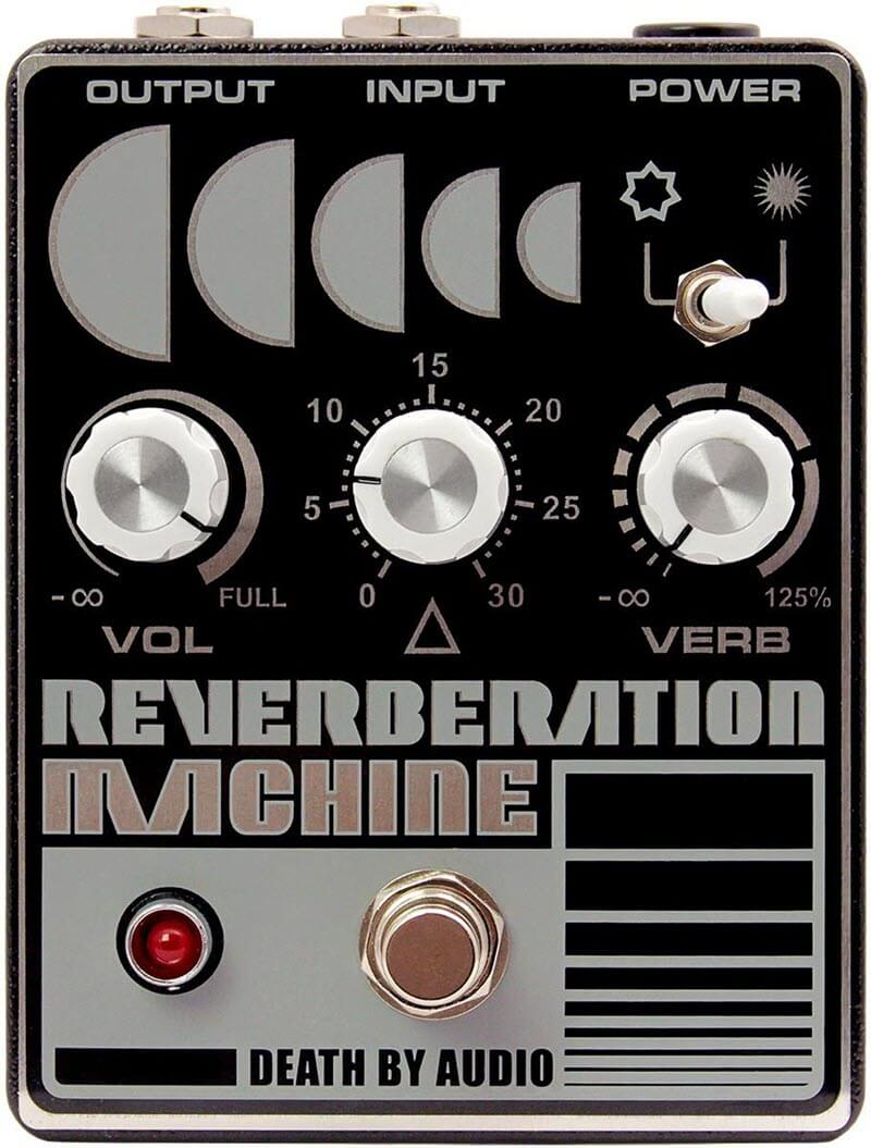 Death By Audio Reverberation Machine Reverb Pedal (Gray/Black)