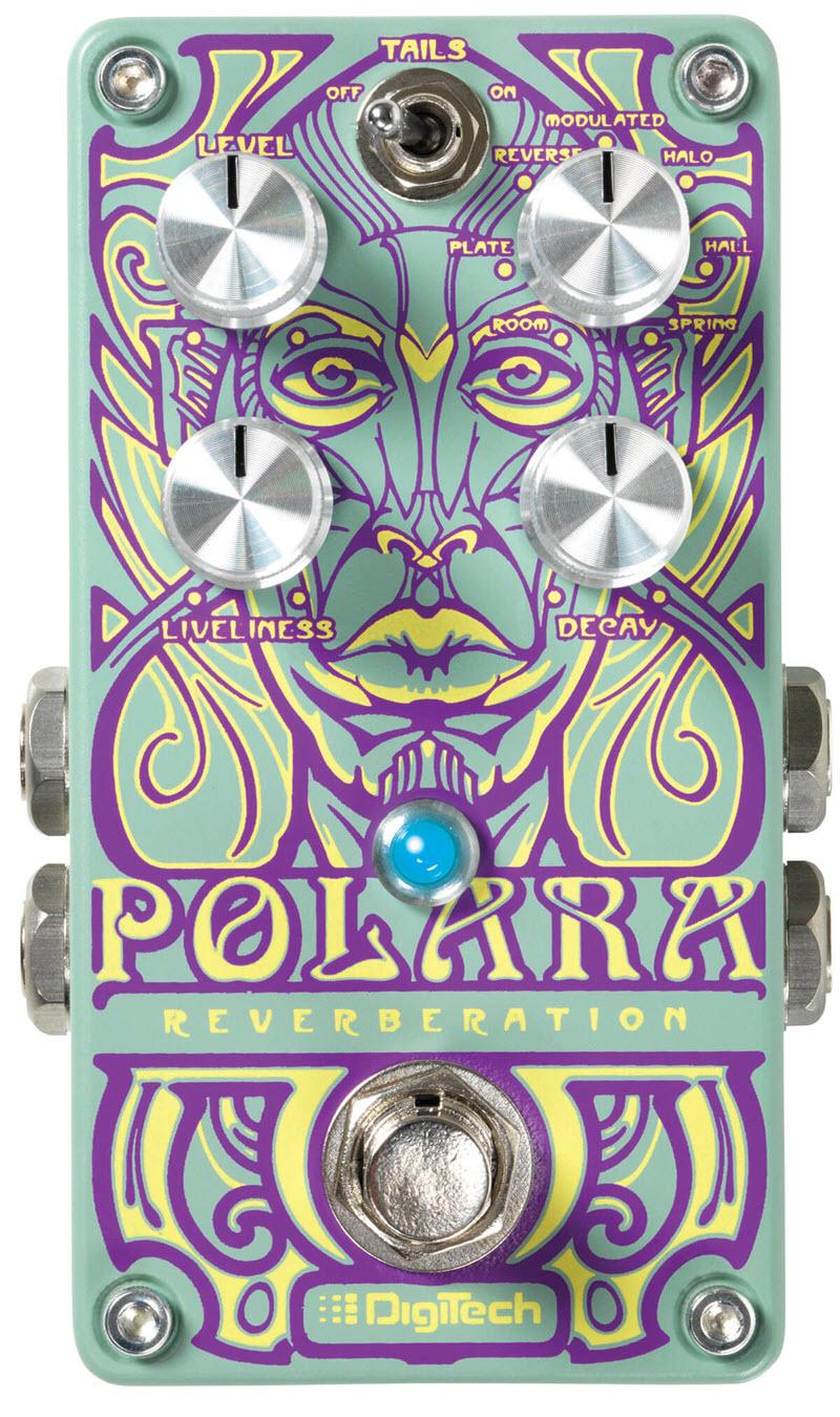 Digitech Polara Reverberation Stereo Reverb Pedal