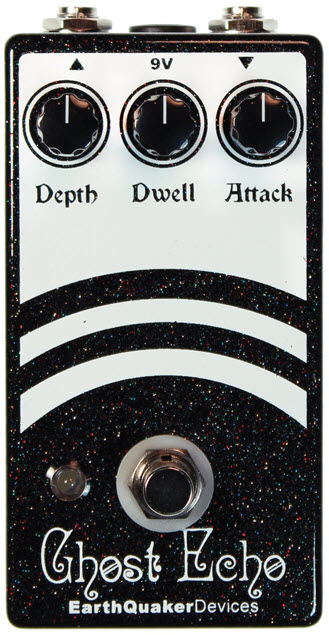 Earthquaker Ghost Echo V2 Vintage Voiced Reverb Pedal (Black/White)