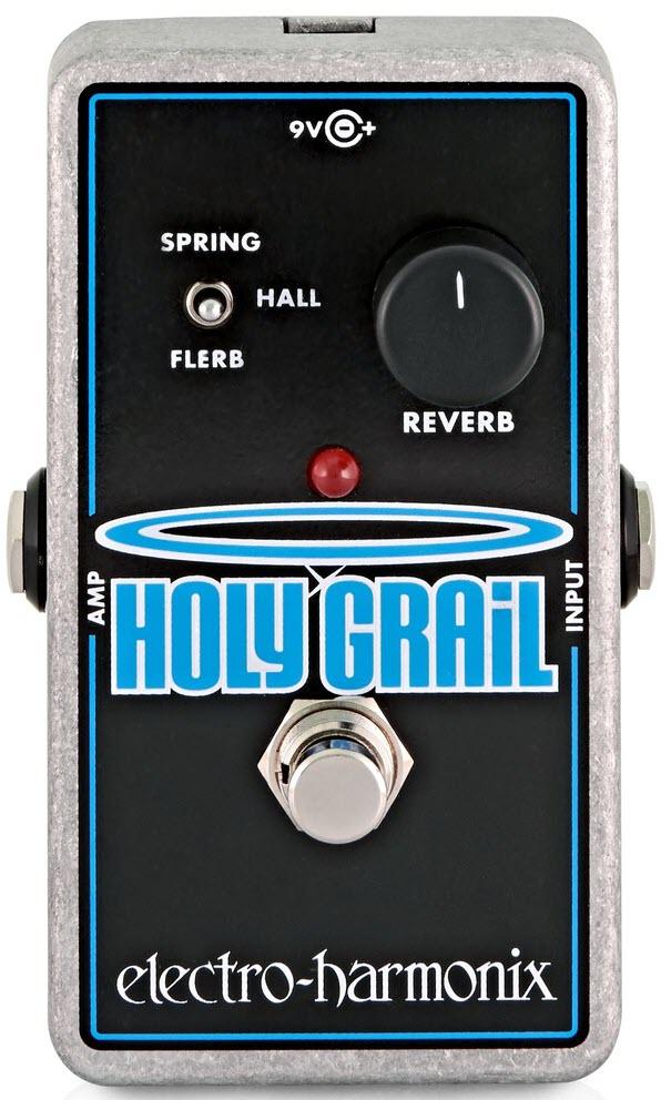 Electro-Harmonix Holy Grail Nano Reverb Pedal (Silver/Black)