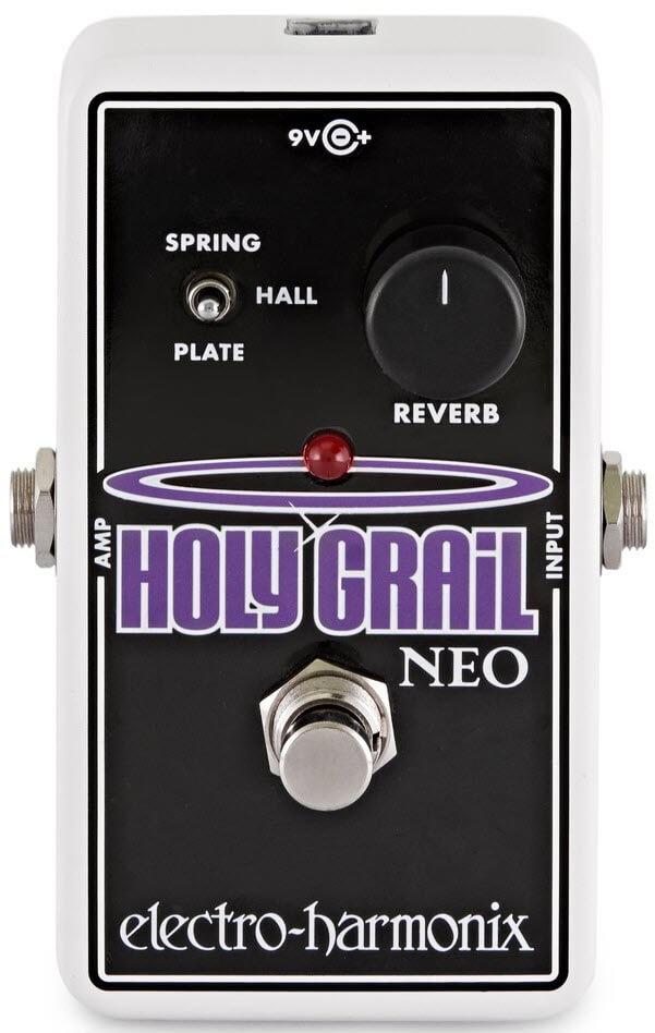 Electro-Harmonix Holy Grail Neo Reverb Pedal (Silver/Black)