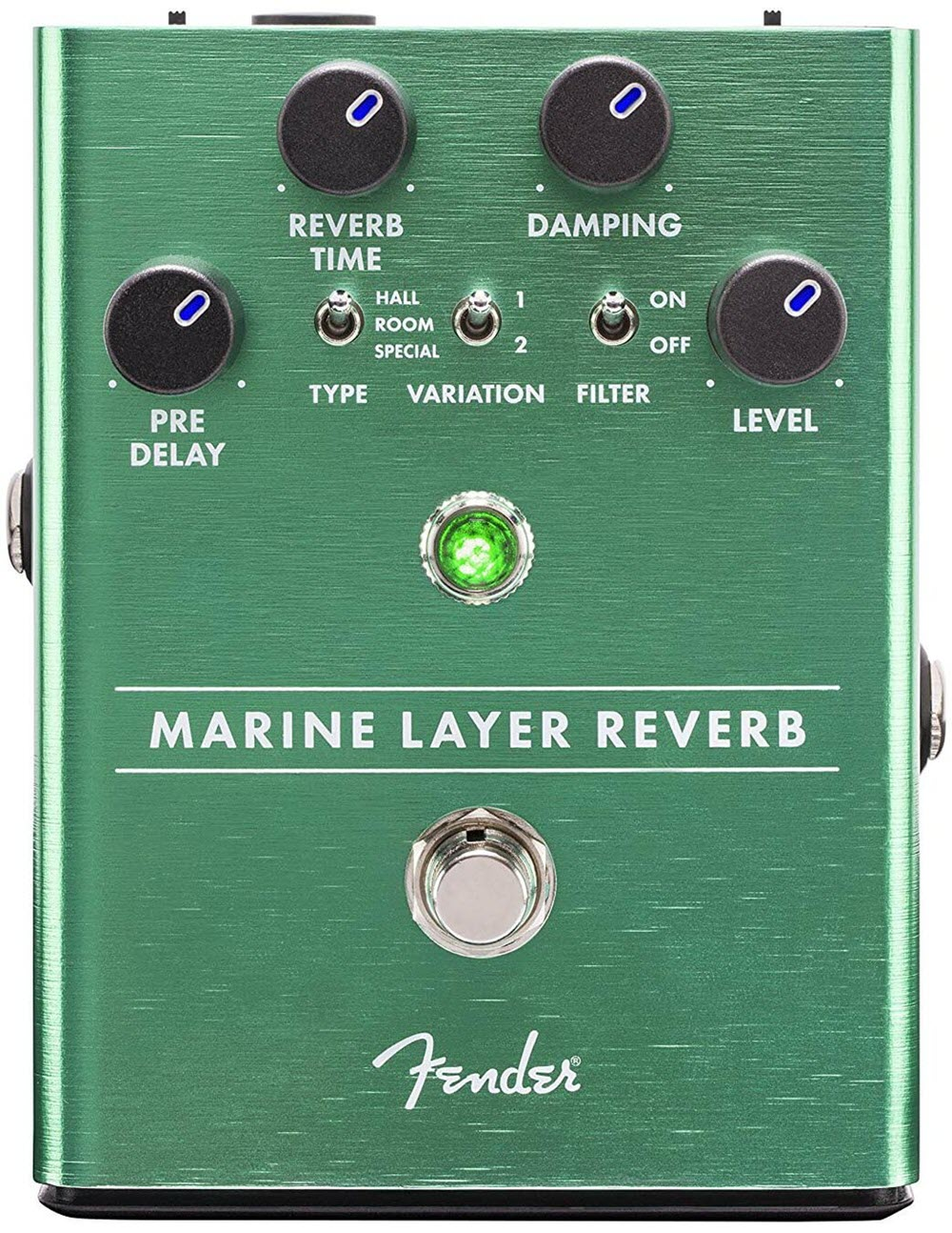 Fender Marine Layer Reverb Pedal (Green)