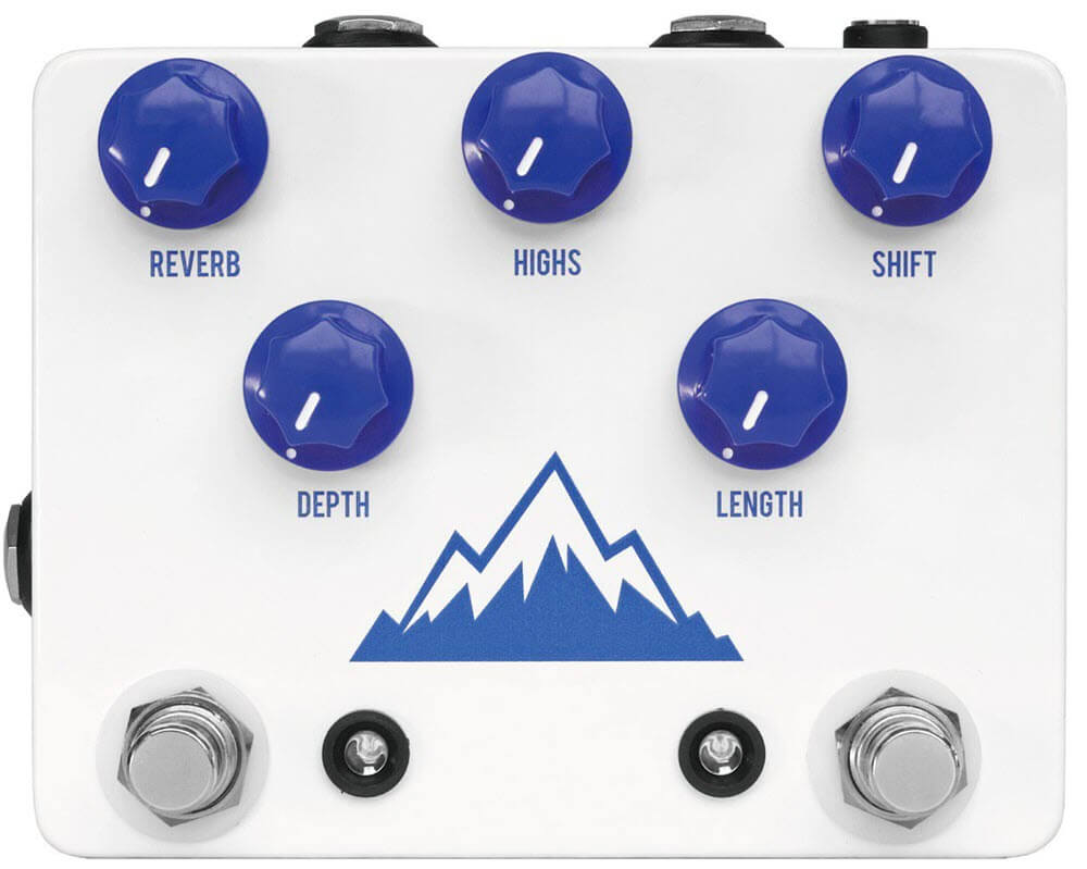 JHS Pedals Alpine Reverb Pedal (White)