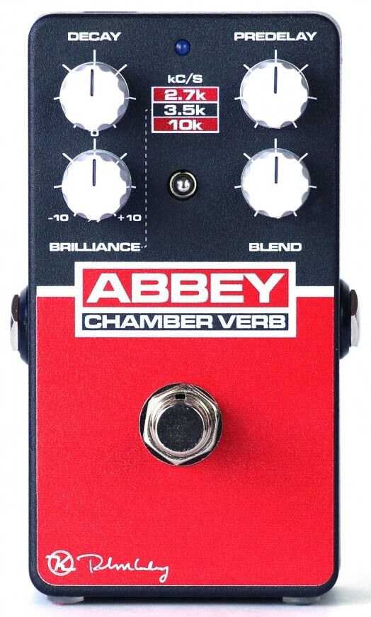 Keeley Abbey Chamber Verb Vintage Reverb Pedal (Black/Red)