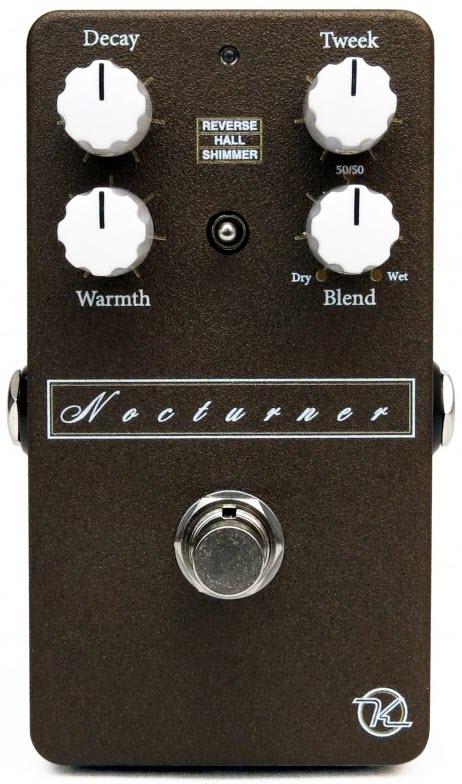 Keeley Nocturner Reverb Pedal (Black/White)