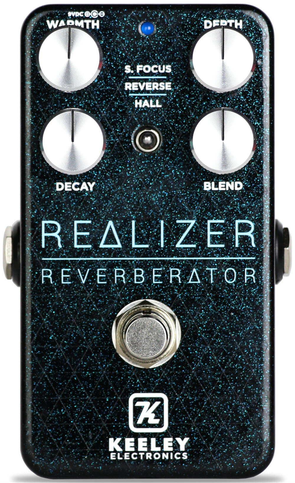 Keeley Realizer Reverberator Reverb Pedal (Black)
