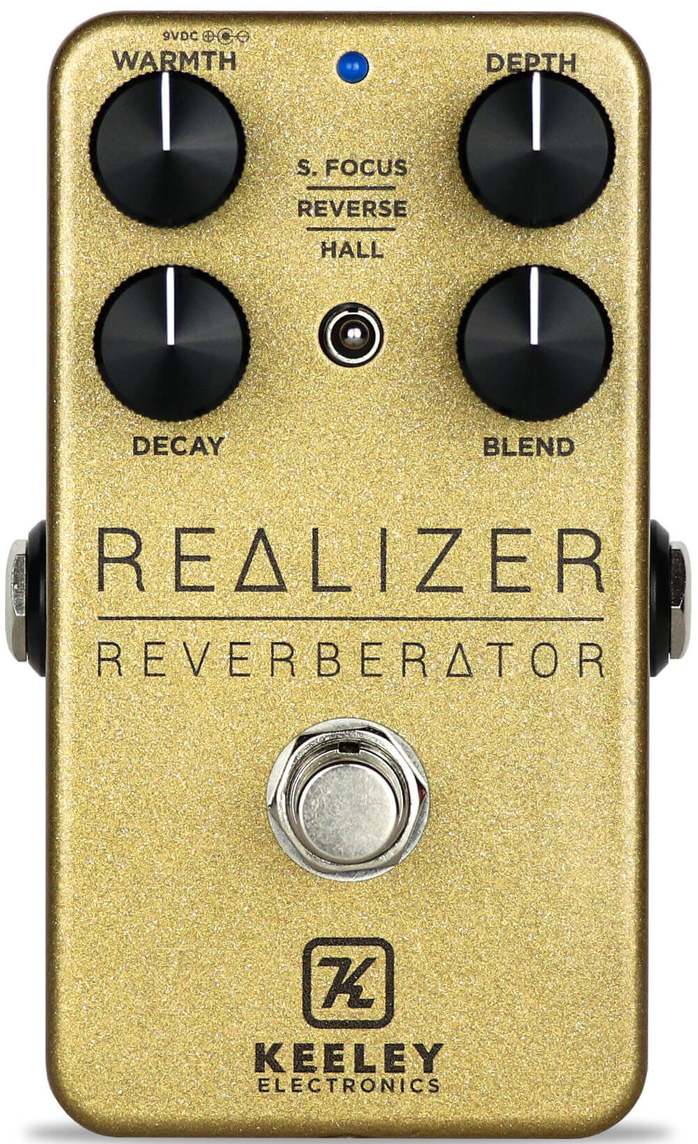 Keeley Realizer Reverberator Reverb Pedal (Gold Bar)
