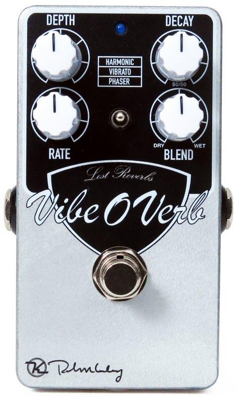 Keeley Vibe-O-Verb Reverb Pedal (Silver/Black)