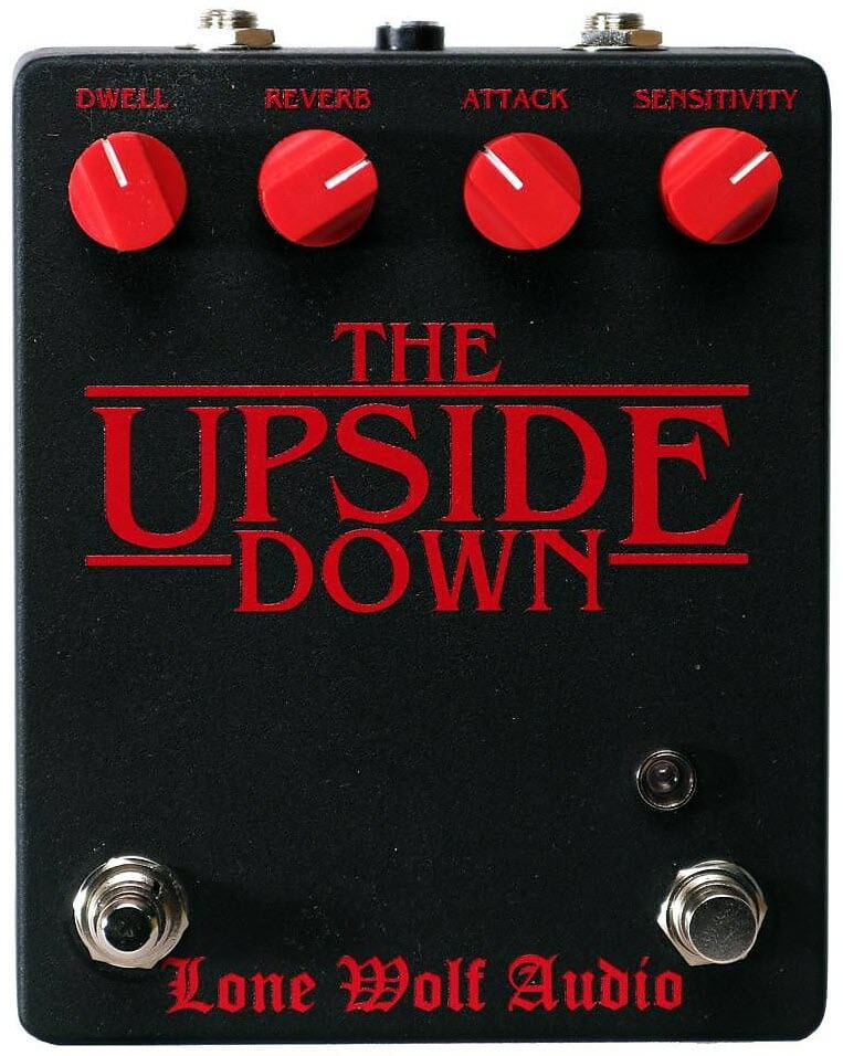 Lone Wolf Audio The Upside Down V3 Reverb Pedal (Black)