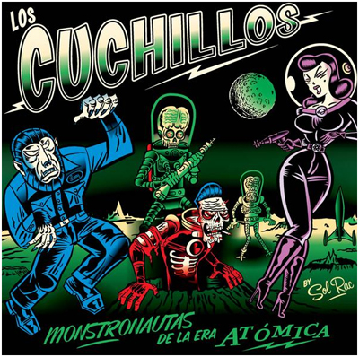 Los Cuchillos: Awesome Surf Band from Costa Rica