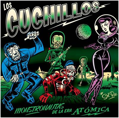 Costa Rica Surf Band: Los Cuchillos - Monstonautas de la Era Atomica