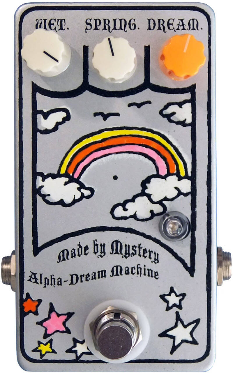 Made By Mystery Alpha Dream Machine Reverb (Silver/Rainbow)