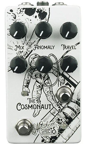 Matthews Cosmonaut Void Reverb Pedal (White/Black)