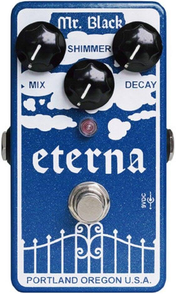 Mr. Black Eterna Reverb Pedal (Blue)