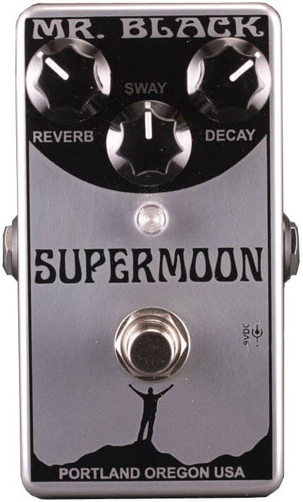 Mr. Black Supermoon Reverb Pedal (Silver Limited Edition)