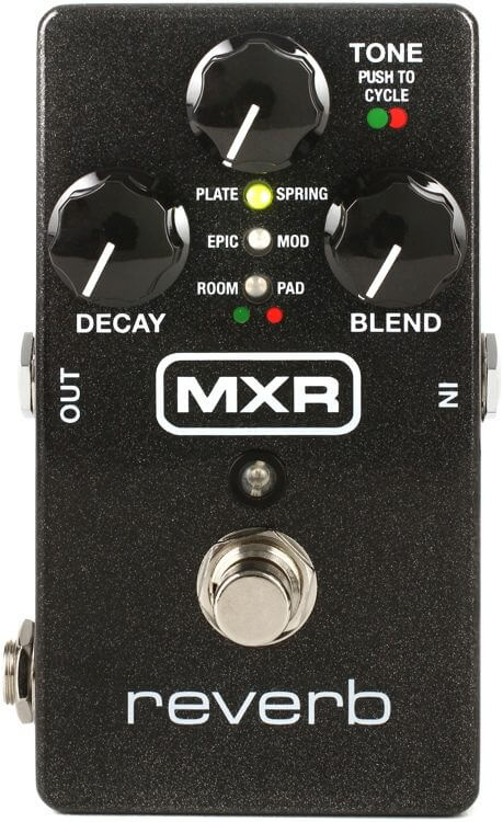 MXR M300 Reverb Pedal Jim Dunlop (Black)