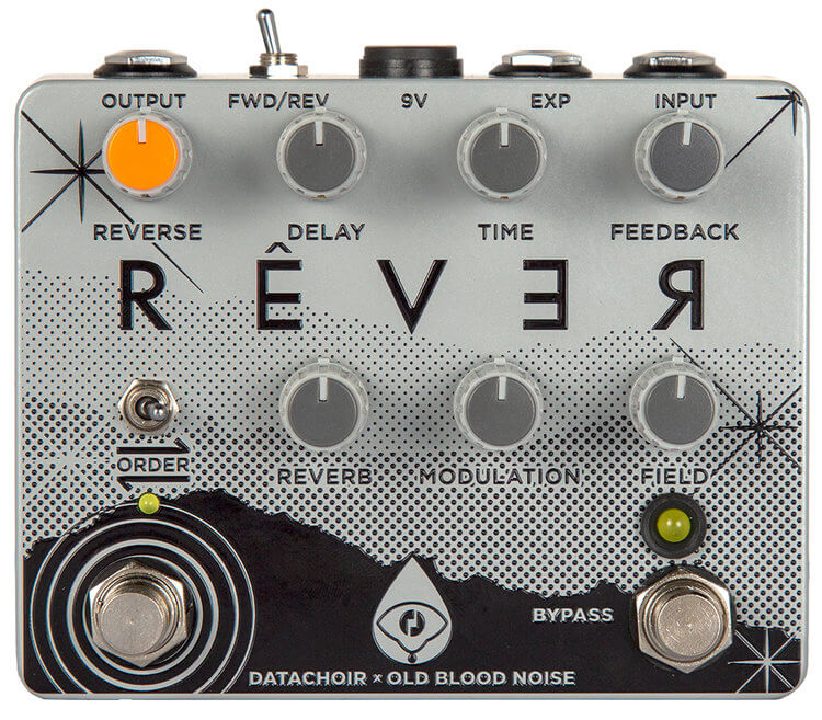 Old Blood Noise Endeavors Rever Reverse Reverb Delay Pedal (Black)