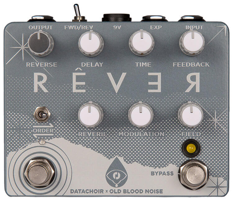 Old Blood Noise Endeavors Rever Reverse Reverb Delay Pedal (White)