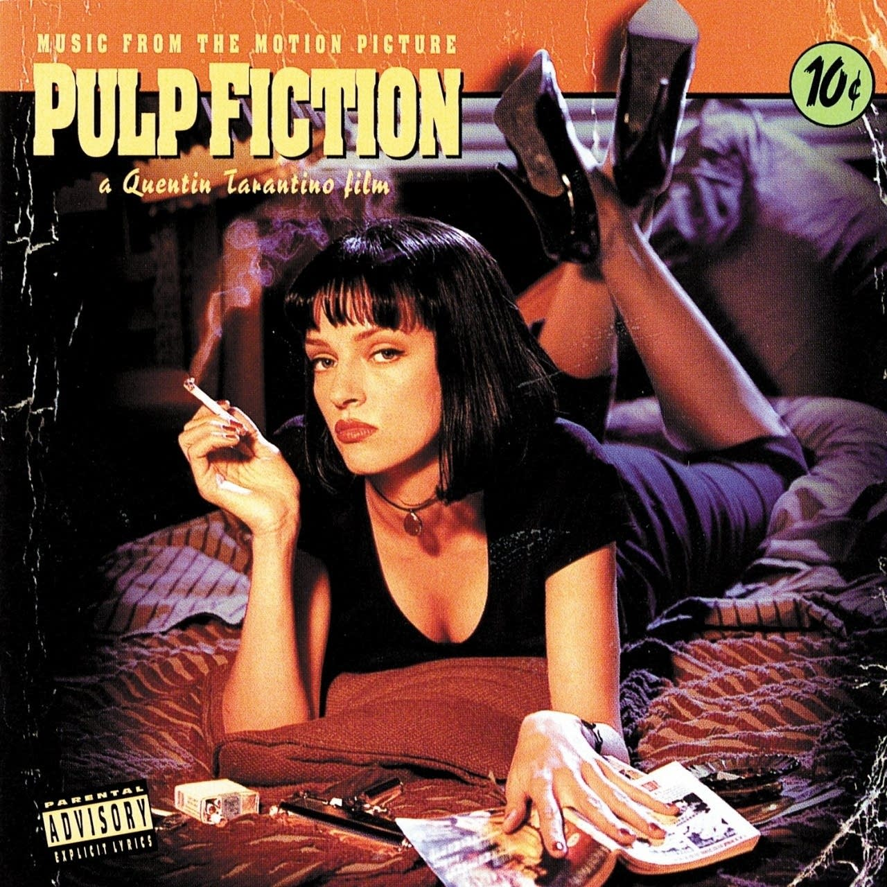 Pulp Fiction Soundtrack Album Artwork