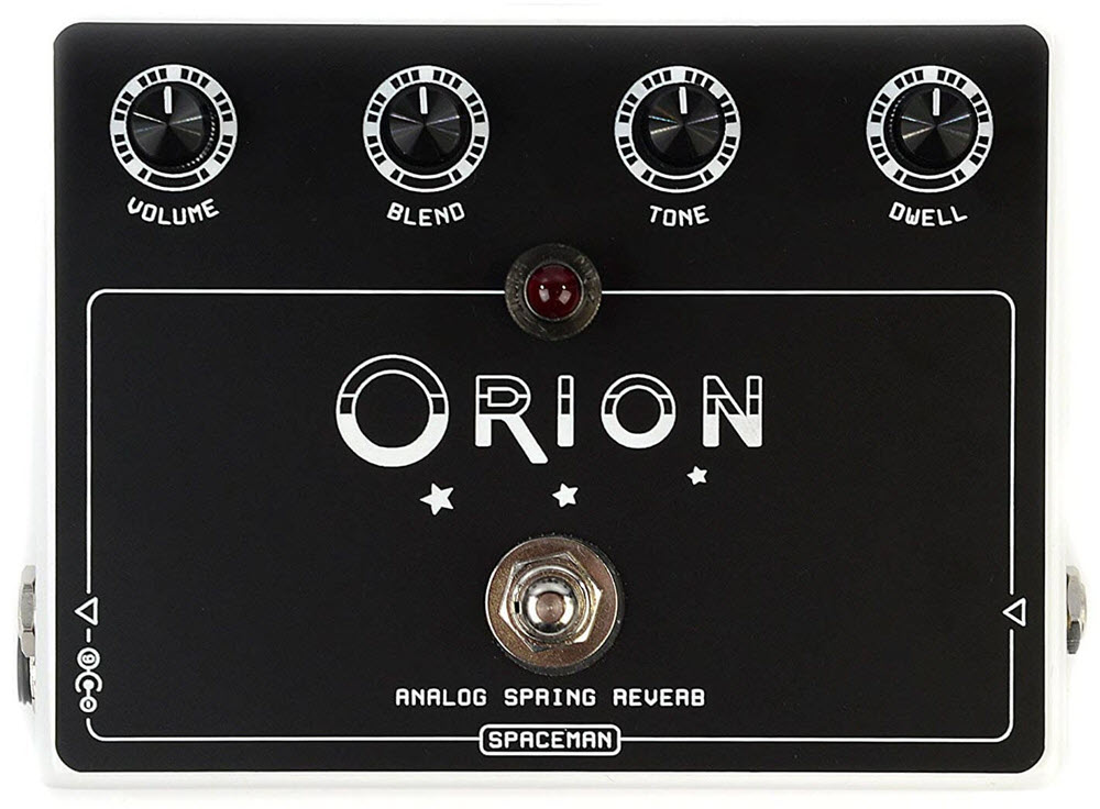 Spaceman Orion Analog Spring Reverb Pedal (Black)