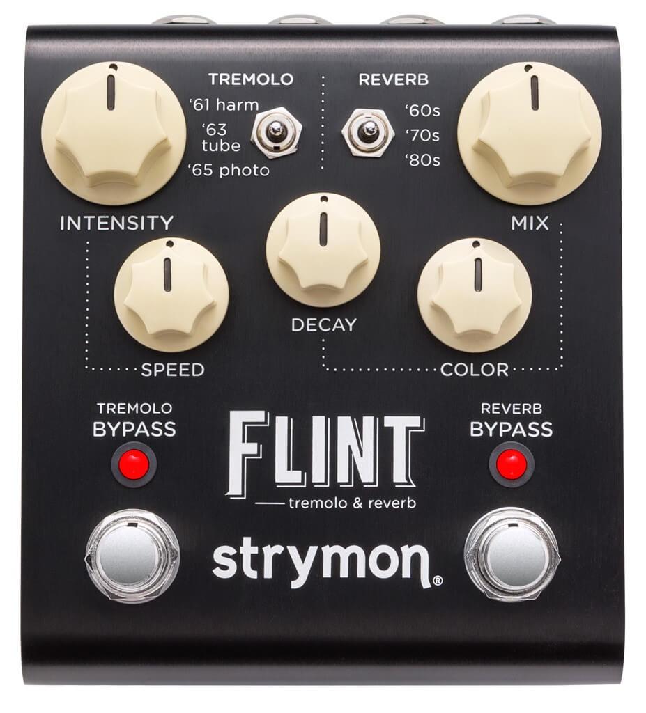 Strymon Flint Tremolo Reverb Pedal (Black)