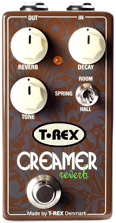 T-Rex Creamer Reverb Pedal