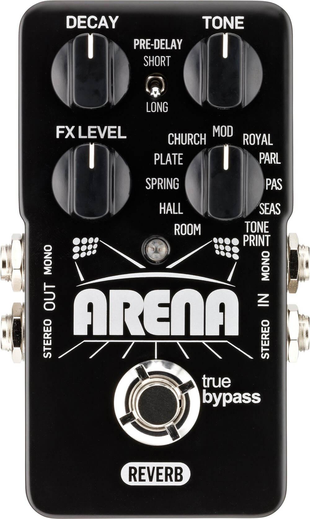 TC Electronic Arena Reverb Pedal (Black)