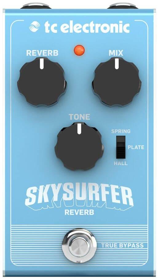 TC Electronic Skysurfer Reverb Pedal (Blue)