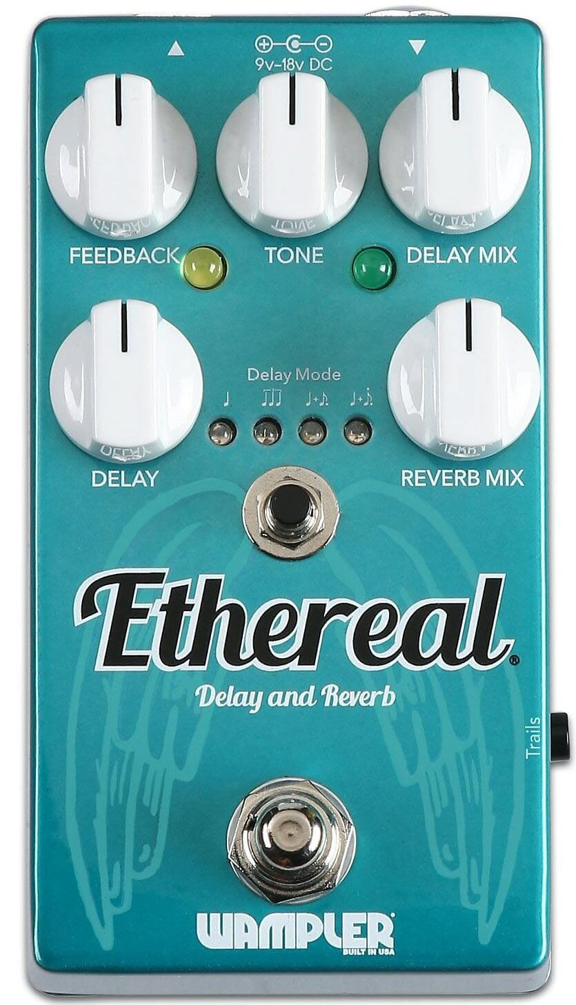 Wampler Ethereal Delay Reverb Pedal