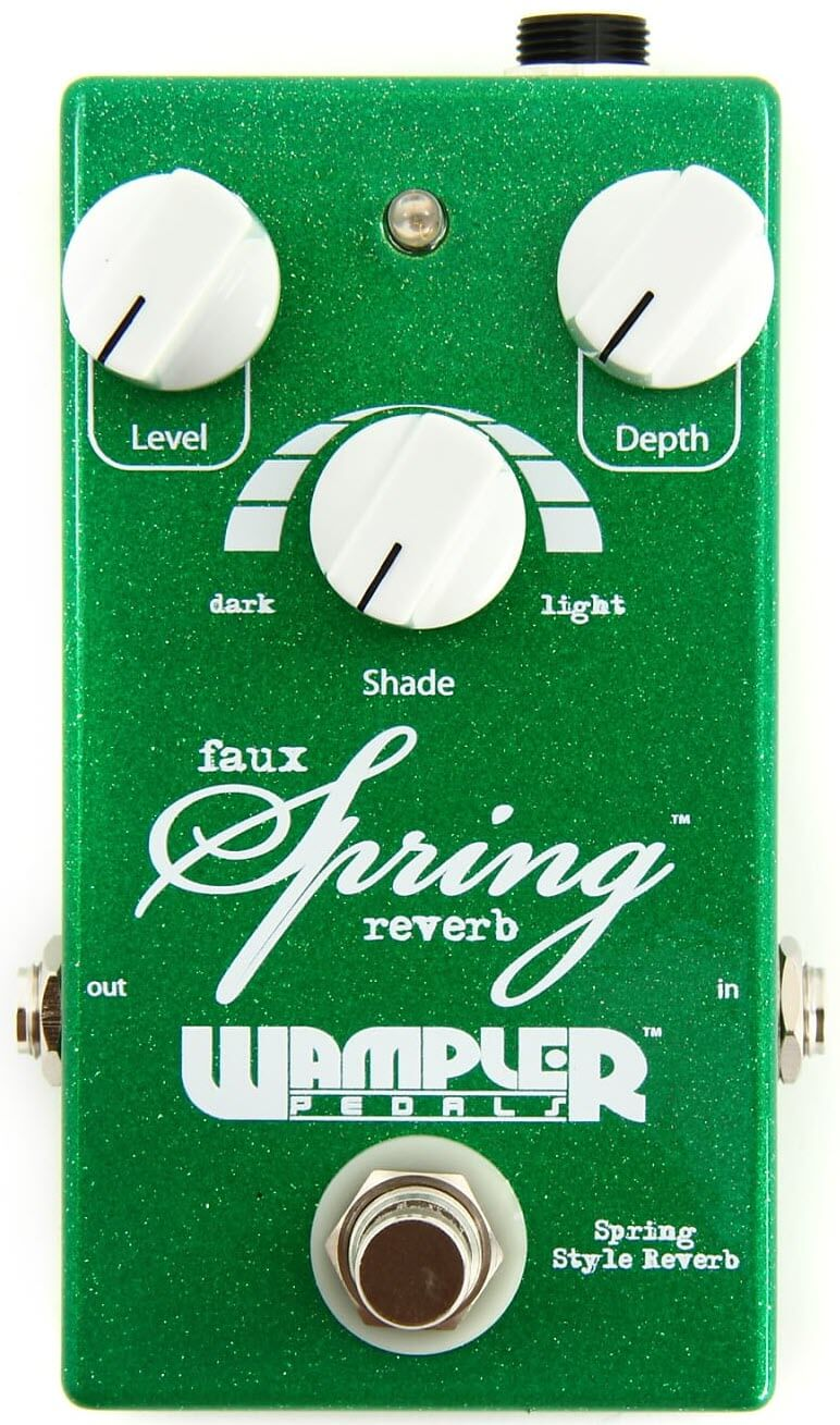 Wampler Faux Spring Reverb Pedal (Green)