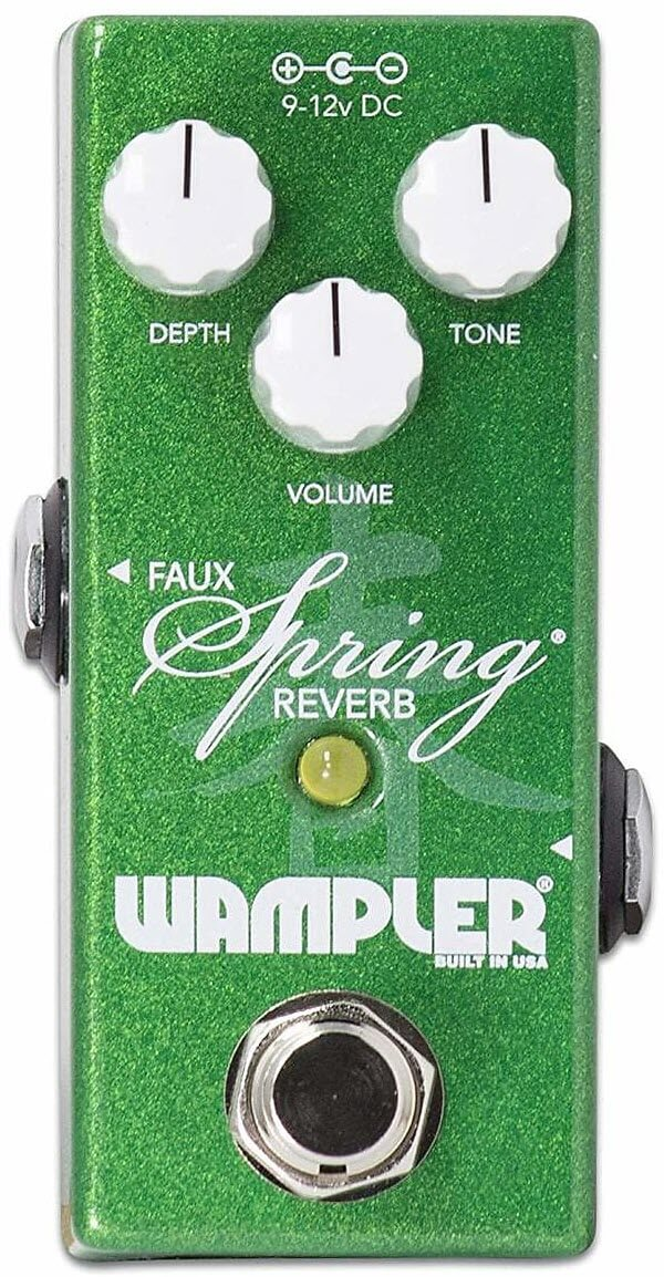 Wampler Mini Faux Spring Reverb Pedal (Green)