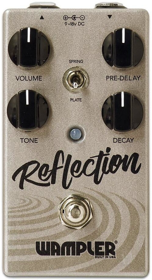 Wampler Reflection Reverb Pedal (Gold)