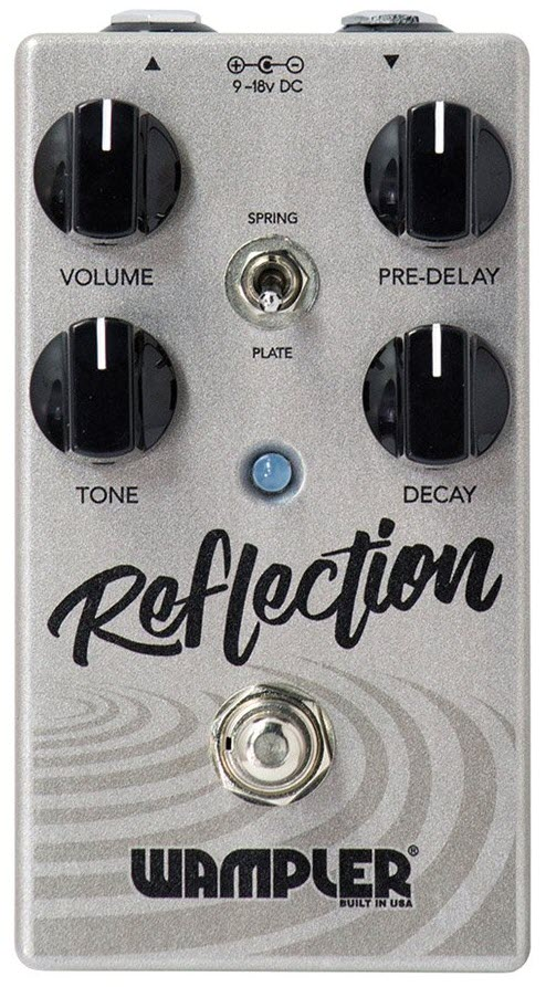 Wampler Reflection Reverb Pedal (Silver)